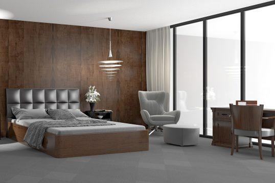Schlafzimmer Inspiration – Im Bauhausstil eingerichtetes Schlafzimmer & Schlafzimmermöbel aus edlen Hölzern