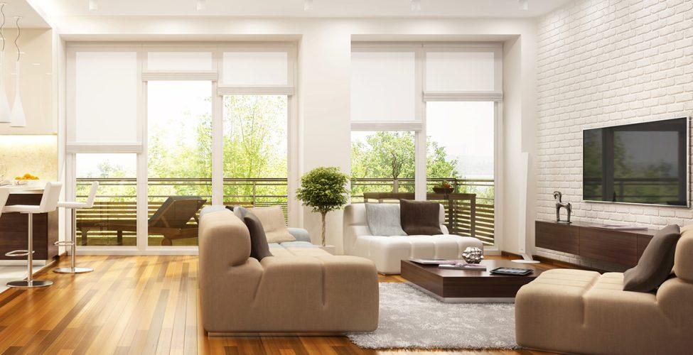 Wohnzimmer modern im Bauhausstil einrichten - Wohnideen & mehr