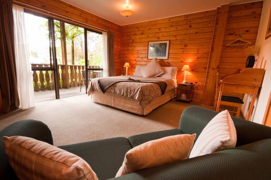 Schlafzimmer im schönen Landhausdesign