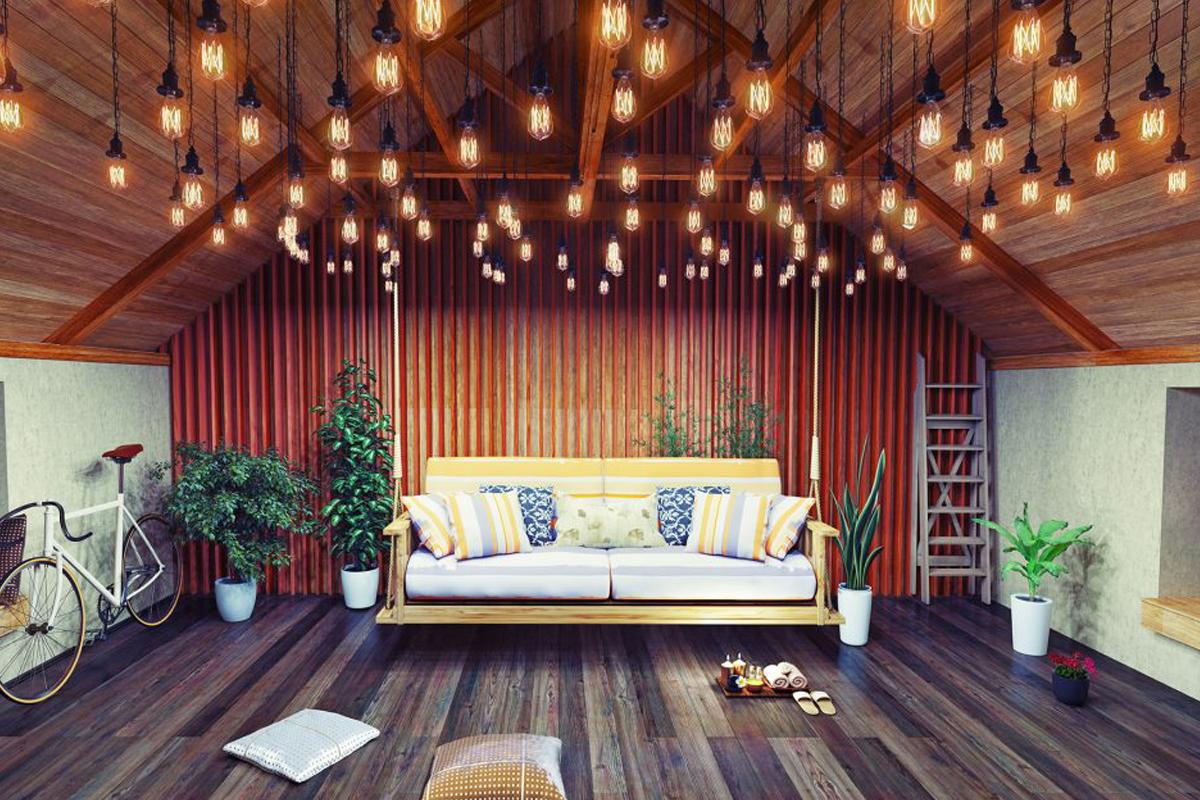 Dachzimmer ▷ Ideen zum Einrichten & Gestalten + Beispiele