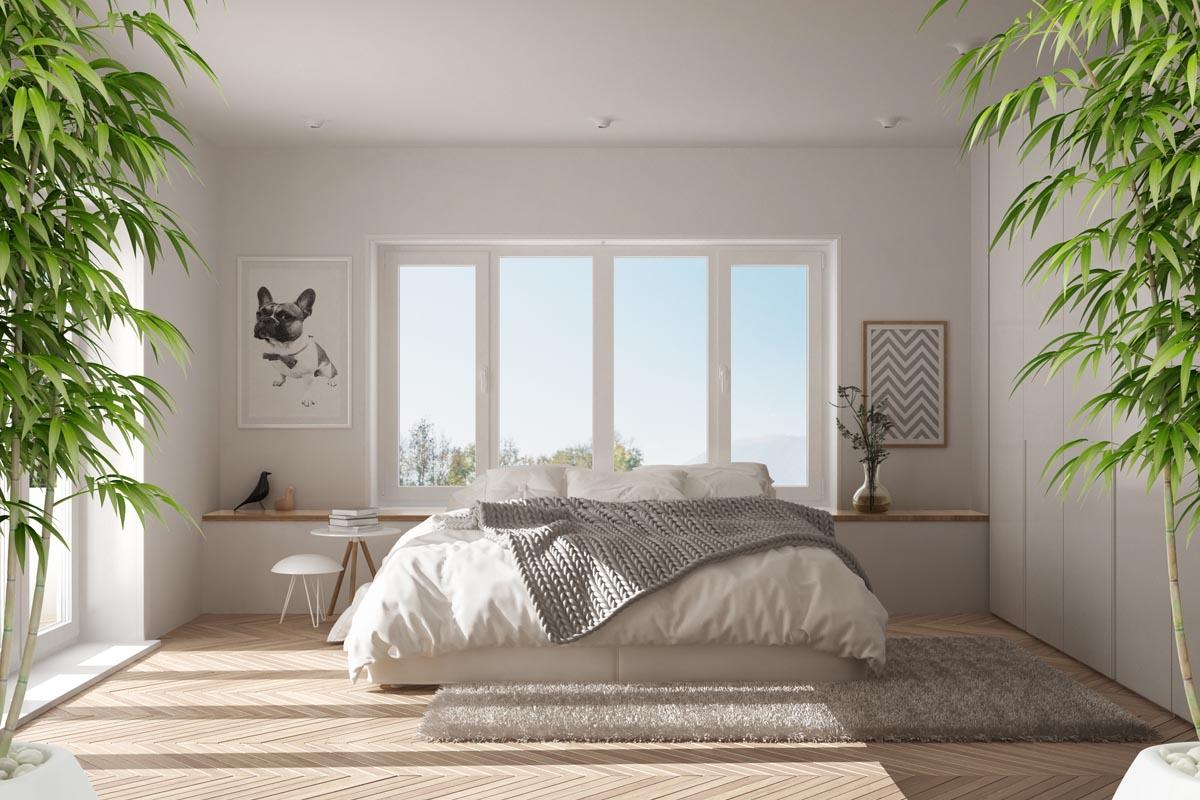 Klassisches Feng Shui Schlafzimmer