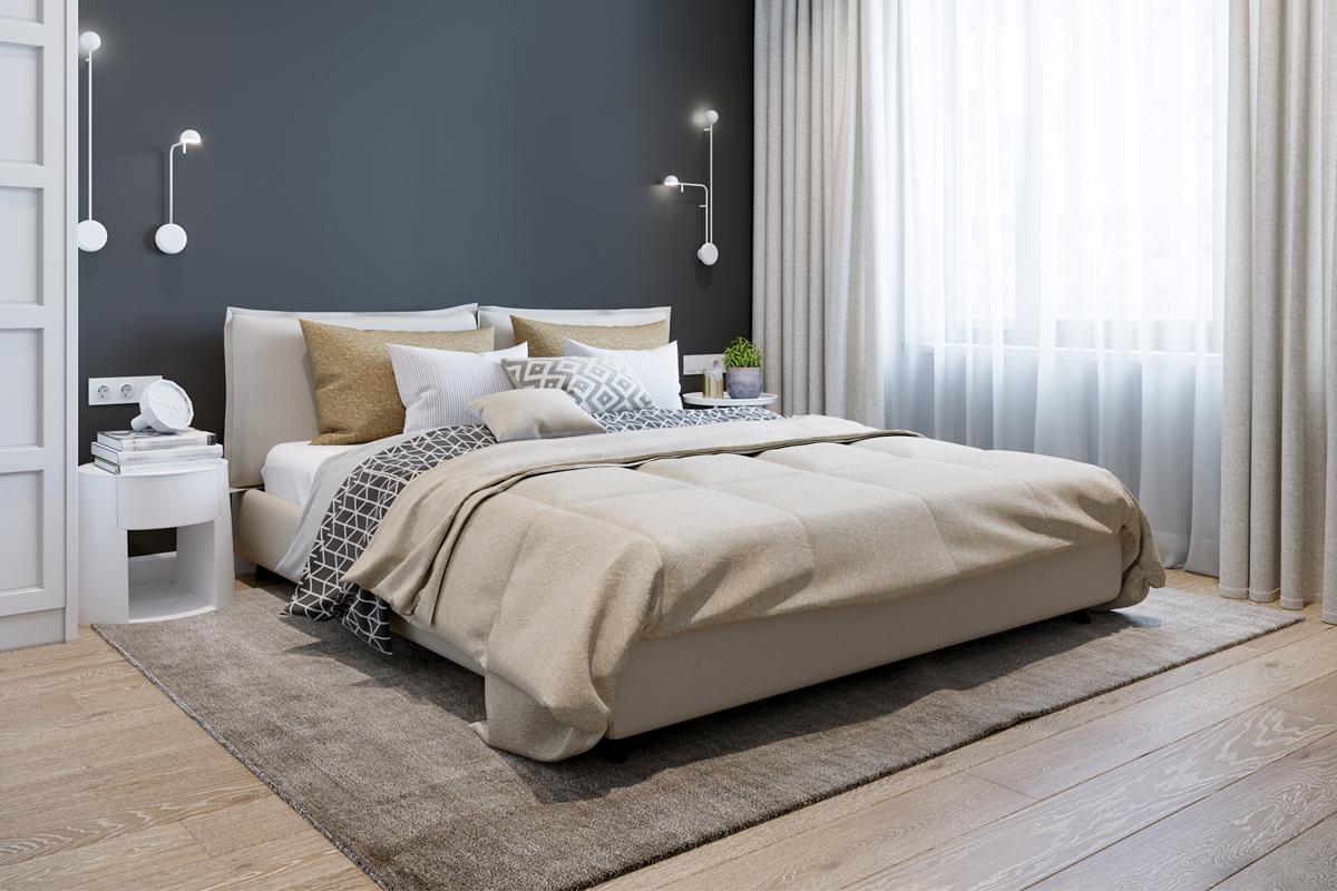 Schlafzimmer Fußboden gestalten - Trends & Materialien im Schlafzimmer
