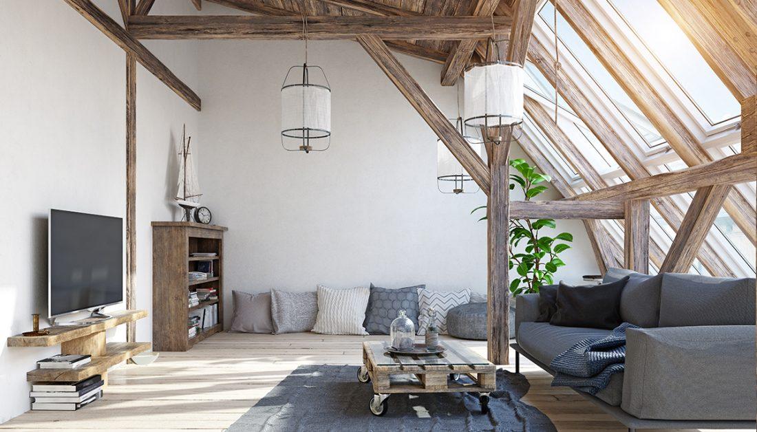 Wohnzimmer Idee Kleines Wohnzimmer Einer Landhaus Villa