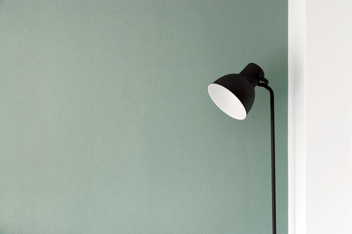 Designfarbe im minimalistischen Stil