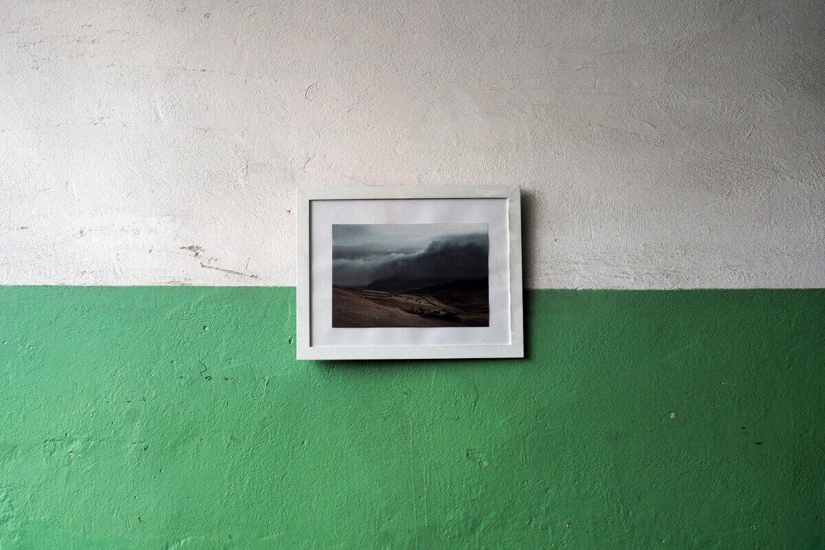 Wände in zwei Farben