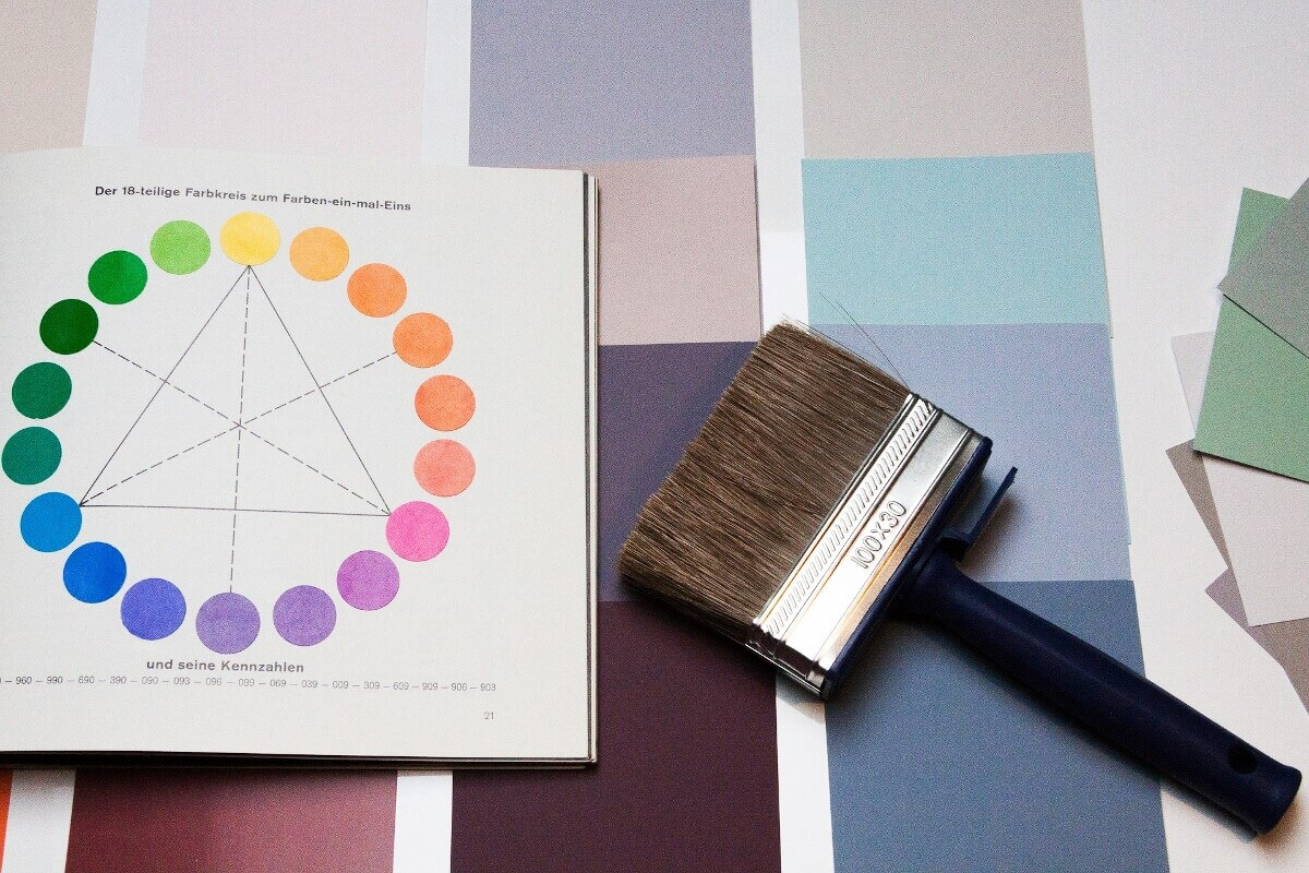 Farbtöne für Wandfarben im Überblick