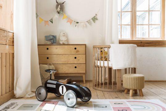 Babyzimmer oder Kinderzimmer Idee im Landhaus...